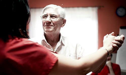 Betreuung von Menschen mit Demenz-Erkrankung