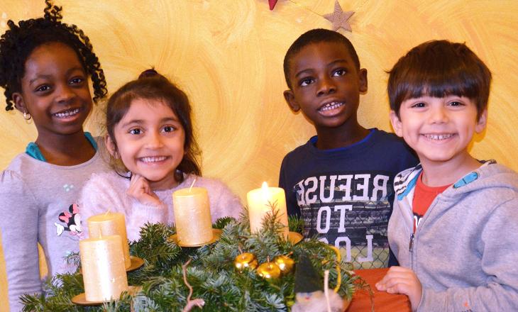 Adventzeit im Internationalen Kindergarten Mosaik