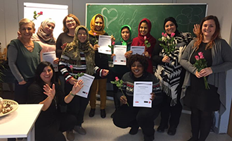 """Frauenzentrum Olympe: Abschlussveranstaltung """"Kreativworkshop"""""""