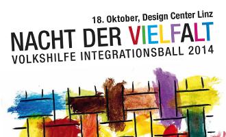 Das Siegerplakat für die Nacht der Vielfalt 2014