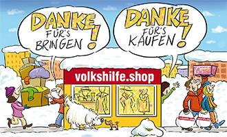 Bringen und kaufen - Volkshilfe Shops