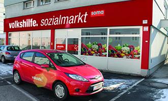 New Volkshilfe Shop in Linz-Urfahr