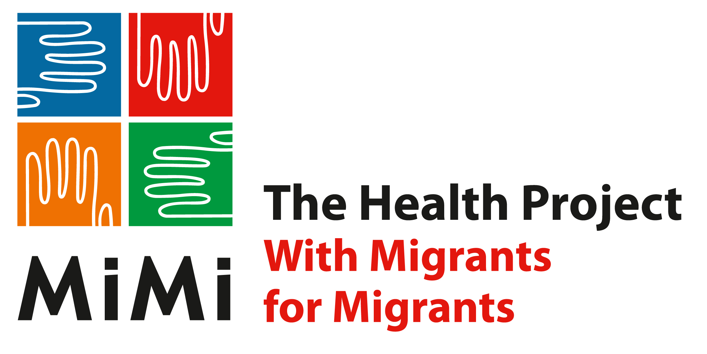 Logo MiMi - The Health Project with Migrants for Migrants
