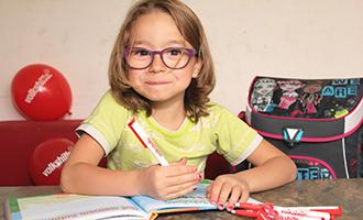 Volkshilfe Schulstart-Aktion mit Libro