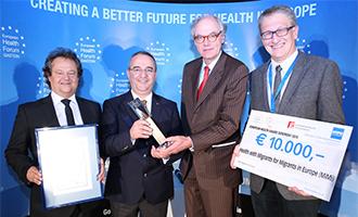 European Health Award: 1. Platz für MiMi GesundheitslotsInnen