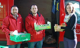 Gesundes Bio-Obst und Gemüse für Volkshilfe-SOMAs