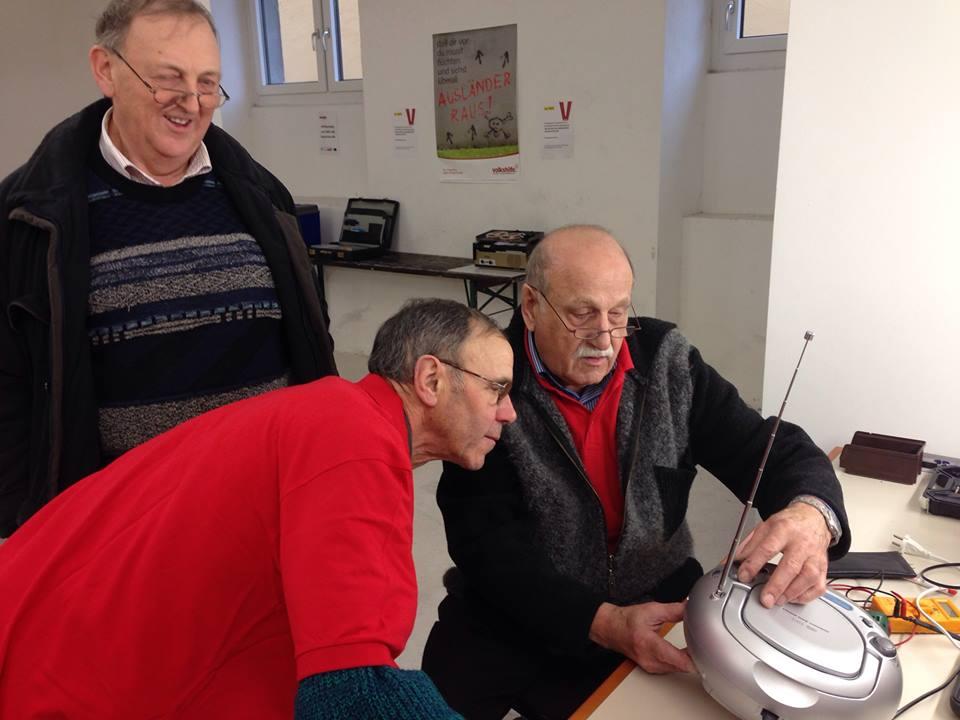 Volkshilfe Näh- und Reparaturcafé in Freistadt