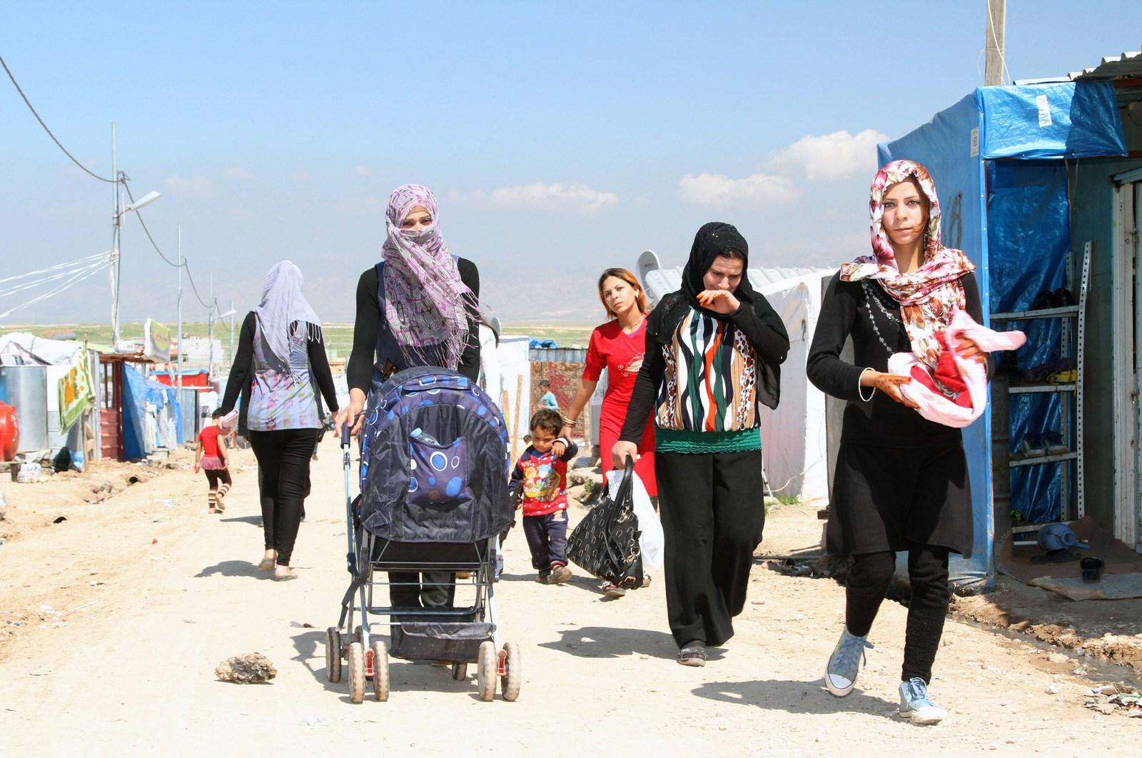 Frauen auf der Flucht, Foto: Imago