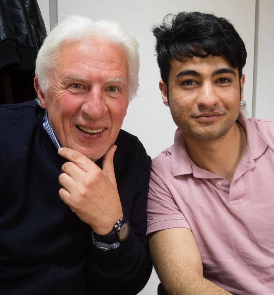 Michael und Safi wurden durch das Patenprojekt der Volkshilfe Flüchtlingsbetreuung gute Freunde