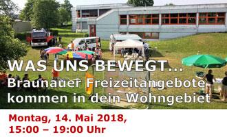 14. Mai: Einladung zur 2. Freizeitbrücke