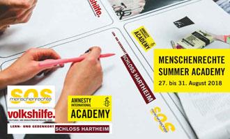 Menschenrechte Summer Academy 2018