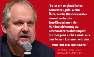 Michael Schodermayer - Volkshilfe OÖ Vorsitzender