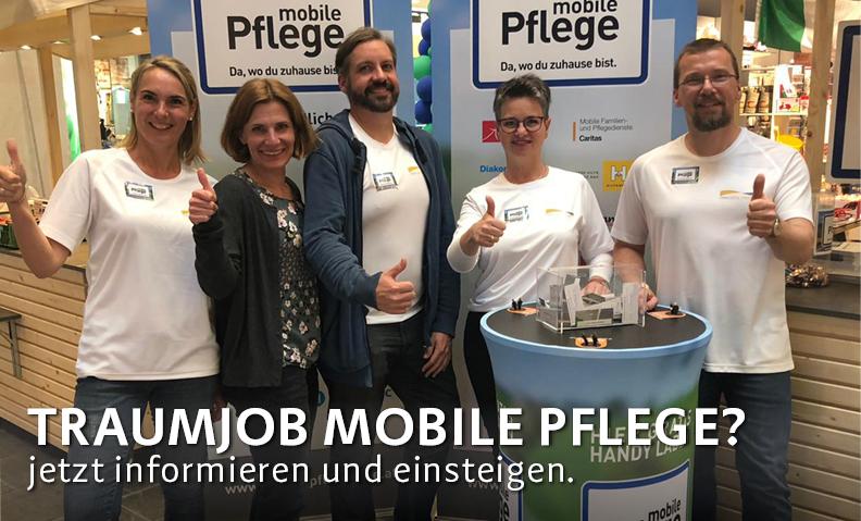 Infostände: Mobile Betreuung und Pflege in OÖ