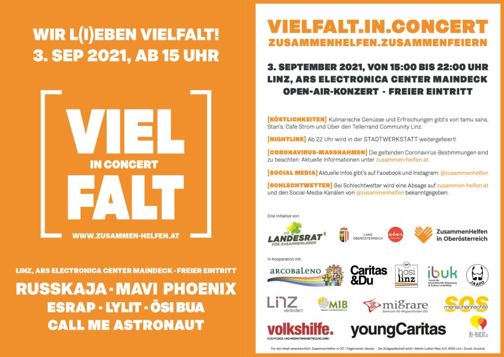 Vielfalt in Concert Flyer